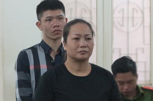 Trần Phương Thảo tại phiên tòa sơ thẩm.