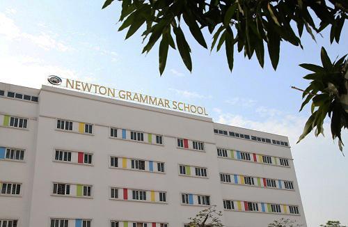 Trường Tiểu học - THCS - THPT Newton ở Bắc Từ Liêm, Hà Nội. Ảnh:Thùy Linh