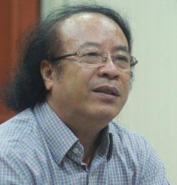 PGS Đỗ Ngọc Thống, chủ biên chương trình môn Ngữ văn mới. Ảnh: Minh Anh.