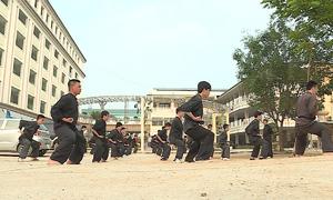 Lớp võ dành cho bác sĩ ở Phú Thọ