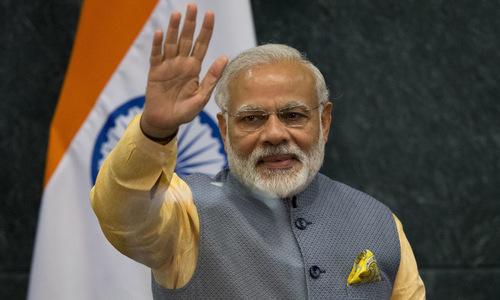 Thủ tướng Ấn Độ Narendra Modi. Ảnh: Reuters.