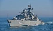 Tàu chiến Anh bám sát chiến hạm Nga gần lãnh hải
