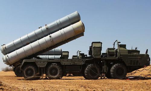 Xe phóng đạn của tổ hợp S-300. Ảnh: Twitter.