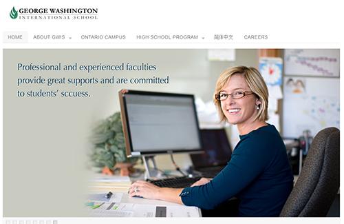 Website của GWIS thiếu mọi thông tin căn bản, như: hiệu trưởng, ban điều hành, ban giáo viên, phòng giáo vụ...