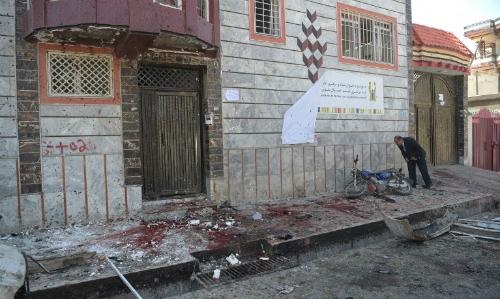 Đánh bom tại điểm đăng ký bầu cử Afghanistan, 31 người chết