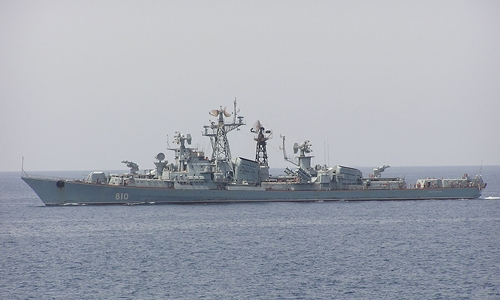 Tàu khu trục Smetlivyy tại Biển Đỏ năm 2003. Ảnh: Wiki.