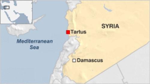 Nga triển khai hai tàu chiến đến Syria