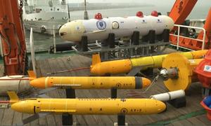 Tàu lặn không người lái của Trung Quốc lập kỷ lục thế giới
