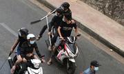 Hơn 30 người hỗn chiến bằng mã tấu ở trung tâm Sài Gòn