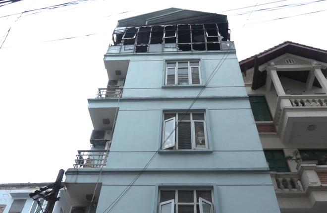 50 trẻ mầm non thoát nạn trong đám cháy ở Hà Nội