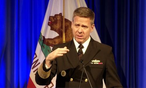 Đô đốc Philip S. Davidson. Ảnh: US Navy.
