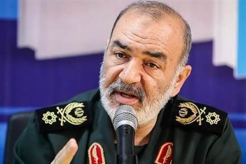Tướng Hossein Salami, tư lệnh Vệ binh Cách mạng Iran. Ảnh: AFP.