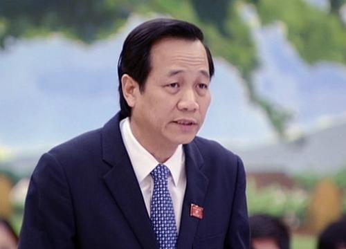 Bộ trưởng Lao động Thương binh Xã hội Đào Ngọc Dung. Ảnh: Q.H