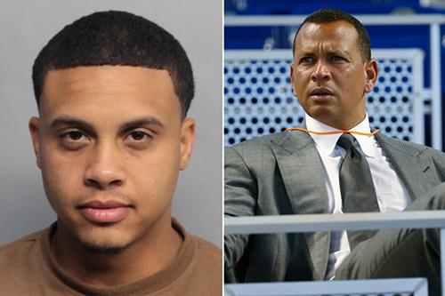 Susini (trái), nạn nhân trong vụ bắt cóc, tống tiền tự nhận là cháu của huyền thoại bóng chày người Mỹ, Alex Rodriguez. Ảnh: Nypost.