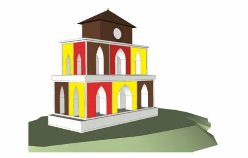 Thử thách giải bài toán lớp 10 về tháp Rùa Hà Nội