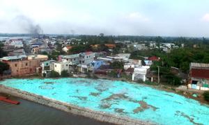 Bờ sông Vàm Nao sau một năm sạt lở