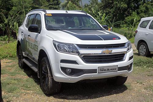 Chevrolet Trailblazer bán ra tại Việt Nam vào tháng 5