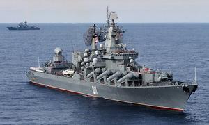 15 chiến hạm Nga tập trận bắn đạn thật trên biển Nhật Bản