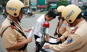 Không mang đăng ký xe có bị phạt?