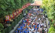 Hàng nghìn người tại TP HCM dâng hương Giỗ tổ vua Hùng