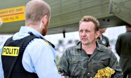 Peter Madsen bị cảnh sát bắt ngày 11/8/2017. Ảnh: AFP.