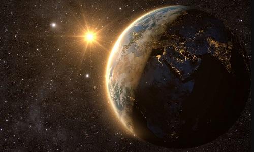 Bộ mặt Trái Đất sẽ thay đổi hoàn toàn nếu hành tinh quay theo chiều ngược lại. Ảnh minh họa: Live Science.