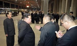 Kim Jong-un tiễn đoàn tàu trao trả thi thể du khách Trung Quốc