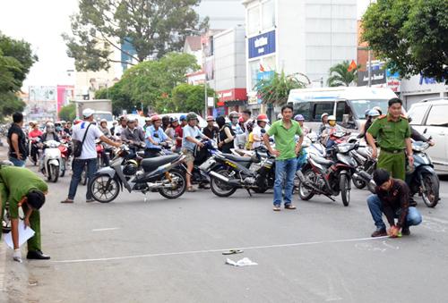 Nghi can giết người va quẹt xe ở Sài Gòn bị bắt