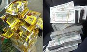 30 kg ma túy đá trong lốp dự phòng xe Fortuner
