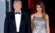 Trump ca ngợi vợ tại quốc yến đầu tiên ở Nhà Trắng