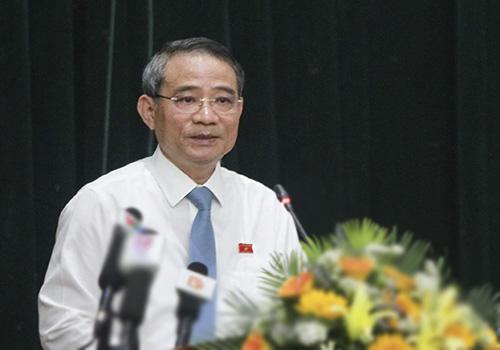 Bí thư Thành ủy Đà Nẵng cho rằng việc hai cựu lãnh đạo cấp cao của Đà Nẵng bị khởi tố là bài học rất đáng quan tâm. Ảnh: Nguyễn Đông.