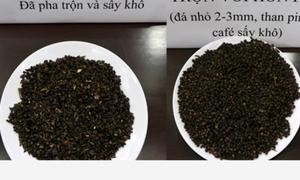 Phế phẩm cà phê bột pin được trộn vào hạt tiêu để tăng trọng lượng