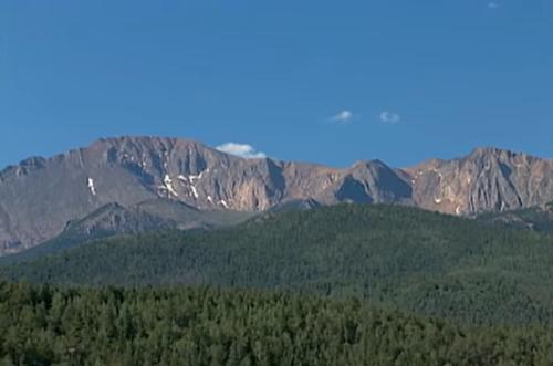 Vùng núi tìm thấy thi thể nạn nhân.
