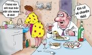Vợ nổi đóa với sáng kiến của chồng