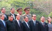 9 quan chức tháp tùng Kim Jong-un dự hội nghị thượng đỉnh Hàn-Triều