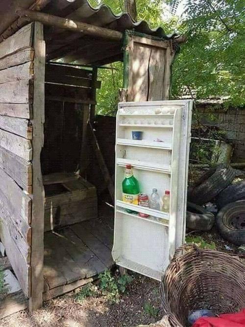 Nhà tủ lạnh.