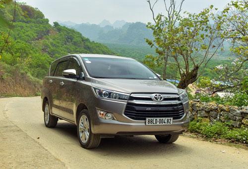 Toyota Innova  MPV đa dụng cho gia đình Việt