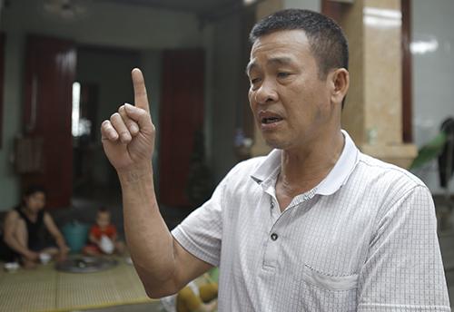 Ông Nguyễn Đức Lục, xã Diễn Ngọc (huyện Diễn Châu). Ảnh: Nguyễn Hải.