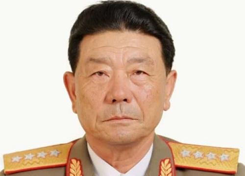Bộ trưởng Quốc phòng Triều TiênPak Yong-sik. Ảnh: BBC.