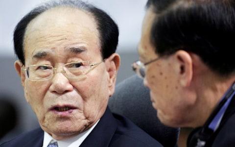 Chủ tịch Quốc hội Triều Tiên Kim Yong-nam. Ảnh: Telegraph.