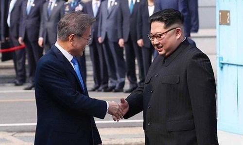 Trung Quốc ca ngợi 'lòng can đảm' của lãnh đạo Hàn - Triều