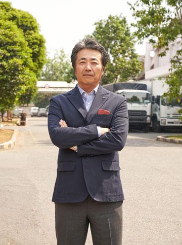 Tổng giám đốc Isuzu Việt Nam  ông Hidekazu Noto.