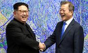 Lãnh đạo Hàn - Triều lần đầu gặp mặt, khẳng định 'lịch sử mới bắt đầu'