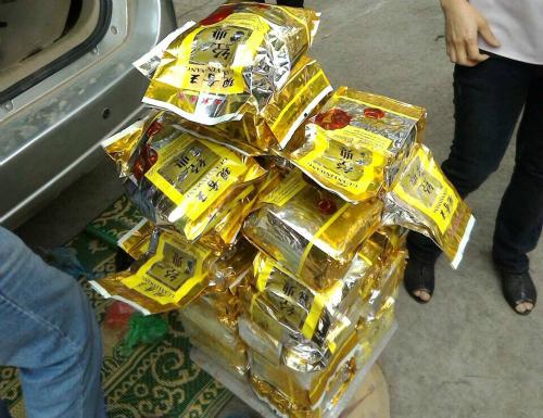 50 cảnh sát bao vây xe Fortuner chở 30kg ma túy đá