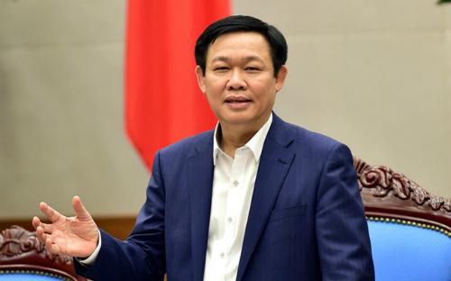 Phó thủ tướng Vương Đình Huệ. Ảnh: VGP