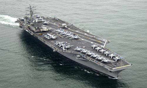 Tàu sân bay USS Nimitz. Ảnh: Wikipedia.