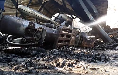 10 xe cổ bị cháy rụi trong quán cà phê ở Đà Lạt