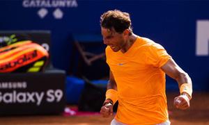Rafael Nadal 2-0 David Goffin
