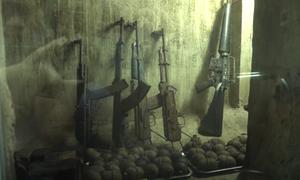 Hầm vũ khí 50 năm tuổi giữa lòng Sài Gòn