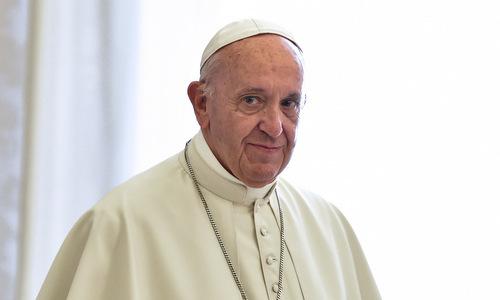 Giáo hoàng Francis. Ảnh: AFP.